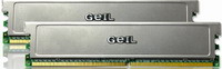 Geil - Memória PC - DDR2 4Gb/ 800Mhz Geil Value Kit2 2x2G CL6 Alu