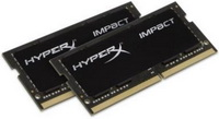 Kingston - Memória Notebook - Kingston.HyperX HX318LS11IBK2/8 8Gb/1866Mhz CL11 1,35V K2 2x4GB DDR3 SO-DIMM memória