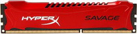 Kingston - Memória PC - Kingston HyperX Savage XMP Red 4Gb/2400MHz CL11 1x4Gb DDR3 memória