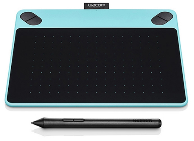 Wacom - Digitalizáló Tábla - Wacom Intuos Art Blue PT M North Digitalizáló Tábla, kék