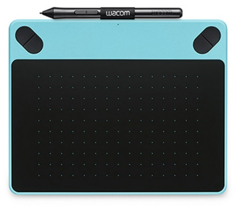 Wacom - Digitalizáló Tábla - Wacom Comic Black PT S North Digitalizáló tábla, kék