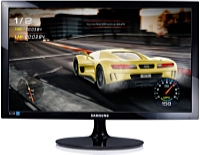 SAMSUNG - Monitor LCD TFT - Samsung 24' S24D330HSX LED FHD monitor, fekete