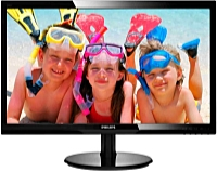 Philips - Monitor LCD TFT - Philips 246V5LSB/00 24' LED FHD monitor, fekete