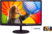 Philips - Monitor LCD TFT - Philips 227E6LDSD/00 21,5' FHD monitor, fekete