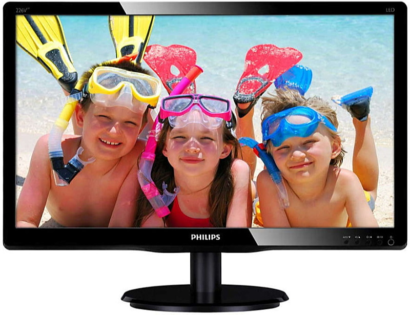 Philips - Monitor LCD TFT - Philips 21,5' 226V4LAB/00 FHD monitor, fekete