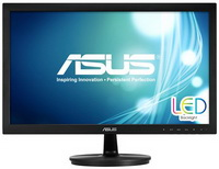 ASUS - Monitor LCD TFT - Asus 21,5' VS228DE FHD LED fekete monitor