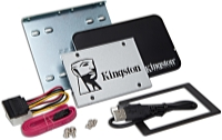 Kingston - SSD Winchester - Kingston UV400 120GB 2,5' SATA3 SSD meghajtó + Upgrade Bundle Kit