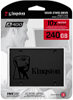 Kingston - SSD Winchester - Kingston A400 240GB SATA3 2,5' 7mm SSD meghajtó