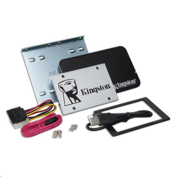 Kingston - SSD Winchester - Kingston UV500 120GB 2,5' SATA 7mm SSD meghajtó+upgrade kit