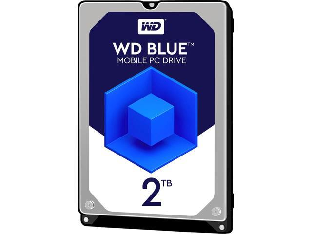 WD - Winchester Notebook - Western Digital Blue Mobile 2TB 2Tb SATA 2,5' 5400/128Mb merevlemez