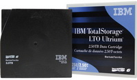 IBM - Szalagos kazetta - IBM Ultrium 2500/6250GB LTO6 adatkazetta