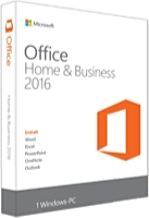 Microsoft - Microsoft - Microsoft Office 2016 Home and Business GER PKC